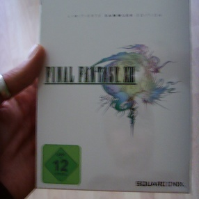 Final Fantasy XIII Sammleredition Unboxing
