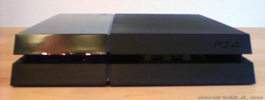 playstation4 liegend front