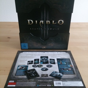 Diablo III: Reaper of Souls Collector's Edition Unboxing