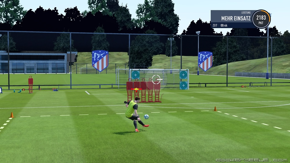 FIFA 20 Karriere  Training
