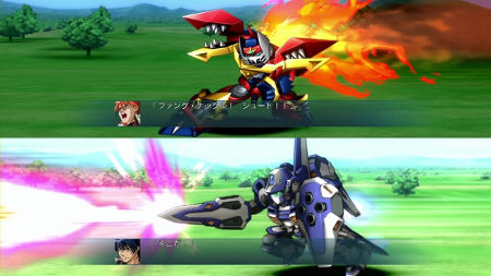 screens: 2nd super robot taisen og