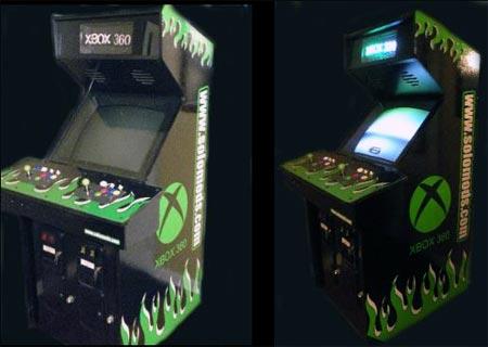 modding: 360-arcade