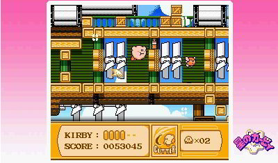 screens: 3D classics kirbys adventure
