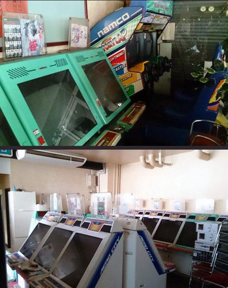 55 arcade-maschinen in alter japanischer immobilie entdeckt