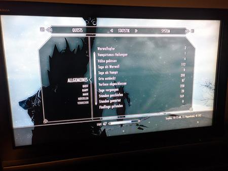 Skyrim PS3 - Allgemeines Tab1