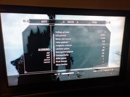 Skyrim PS3 - Allgemeines Tab2