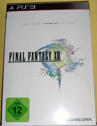 final fantasy XIII limited edition