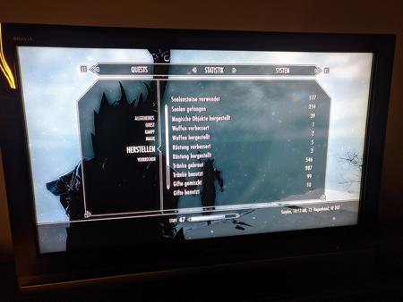 Skyrim PS3 - Herstellen Tab1