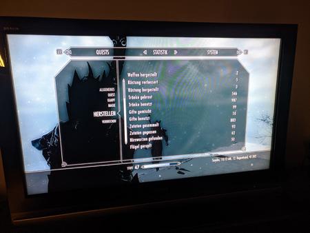 Skyrim PS3 - Herstellen Tab2