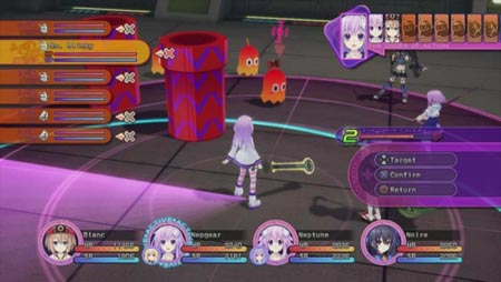 screenshots (II): hyperdimension neptunia V