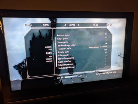 Skyrim PS3 - Kampf Tab2