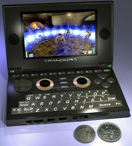 handheld: pandora-konsole