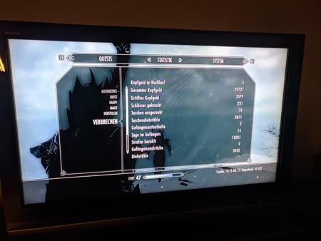 Skyrim PS3 - Verbrechen Tab1