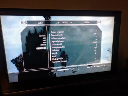 Skyrim PS3 - Verbrechen Tab2