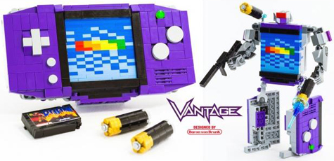 gameboy advance lego transformer