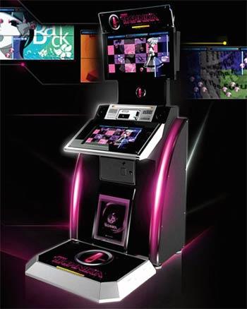 arcade: dj max technika