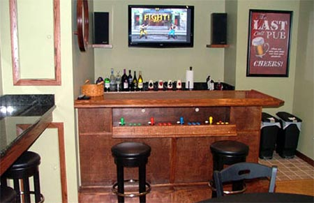 arcade: gaming-bar
