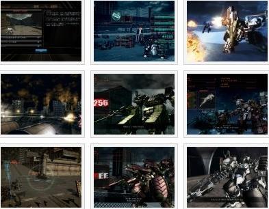 screens: armored core 5