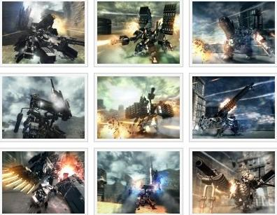 screens: armored core 5