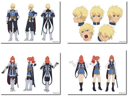 artwork: tales of vesperia anime