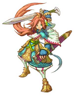 children of mana: artwork II