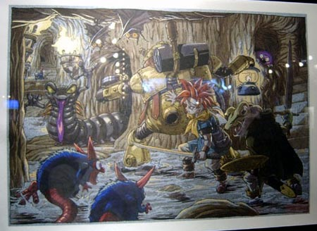 artwork: chrono trigger