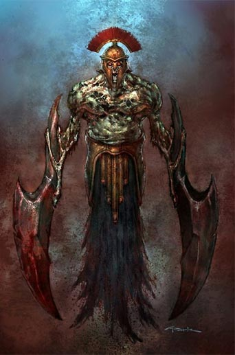 artwork: god of war III