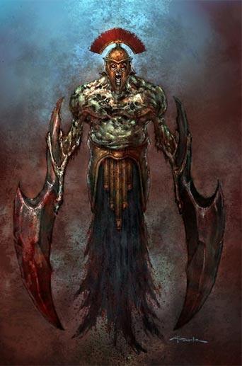 artwork: god of war III