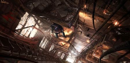 concept artwork: uncharted 2