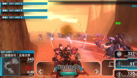 screens: assault gunners