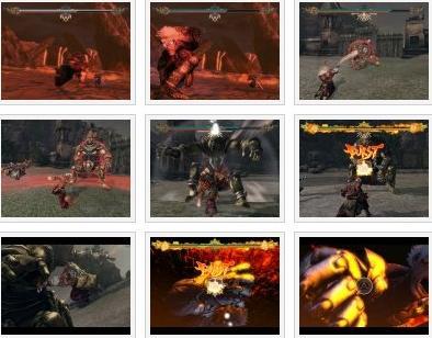 screenshots: asura's wrath