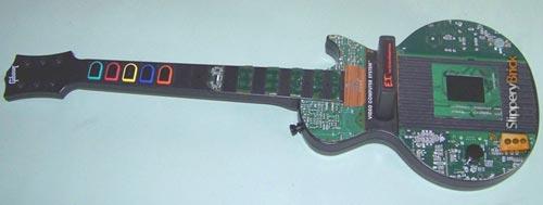 atari 2600: guitar hero mod