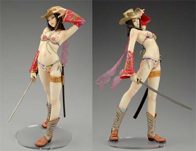 onechanbara: aya actionfigur