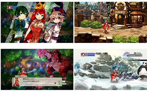 screens: battle princess of arcadias