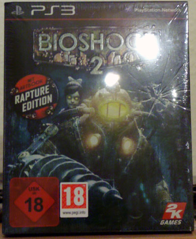 bioschock 2 rapture edition