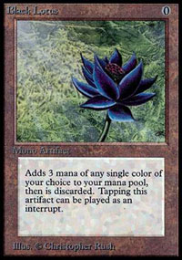 magic p9 - black lotus