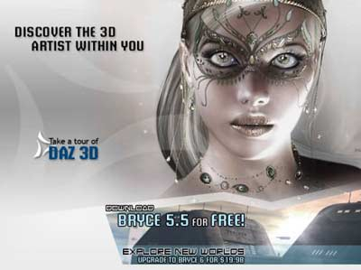 bryce 5.5: kostenlos