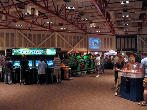 california extreme arcade 2008