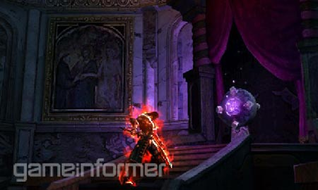screens: castlevania: mirror of fate
