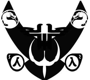die game-embleme von ceolin
