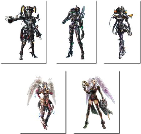 character art: xenoblade chronicles
