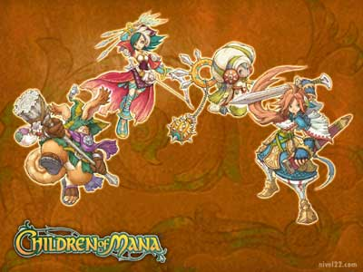 children of mana: artwork III