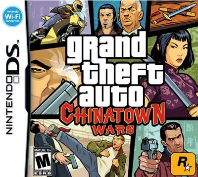 gta chinatown wars cover