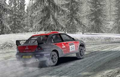 colin mcrae: neue engine