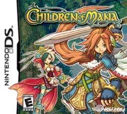 children of mana: boxart