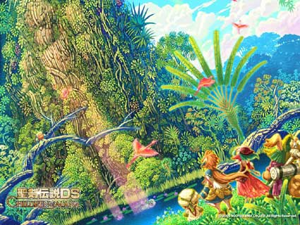 children of mana: wallpaper