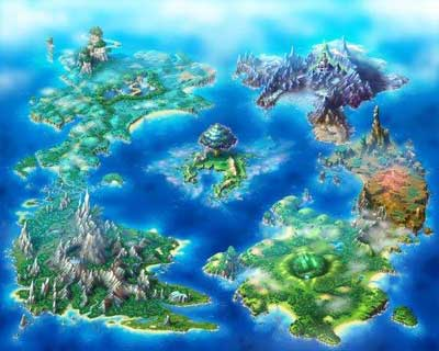 children of mana: world II