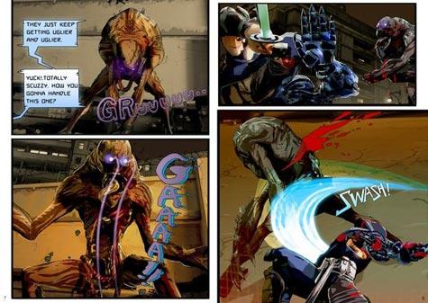 comic: yaiba: ninja gaiden z