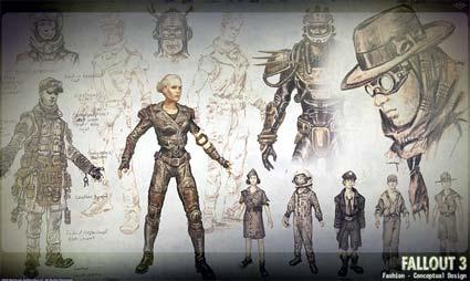 concept artwork: fallout 3