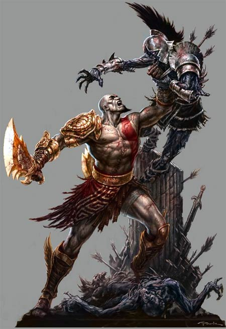 concept artwork: god of war III